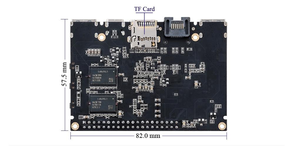 Khadas Vim An Open Source TV Box Quad-core Amlogic S905X WiFi Bluetooth 4.2 DIY Set-top Box