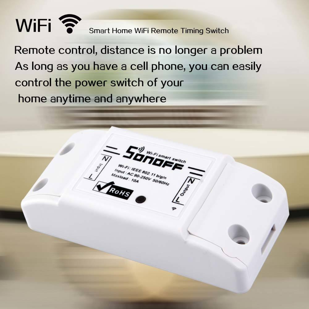 Smart Home WiFi Wireless Timing Switch for Apple Android