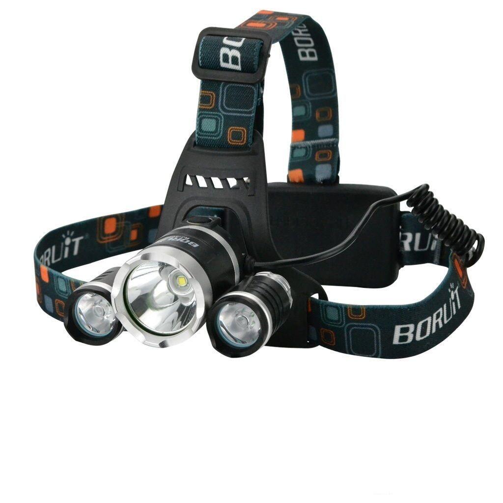 Generic Lampe Frontale 6000 Lumens 3 X Cree Xm L T6 Lampe Frontale