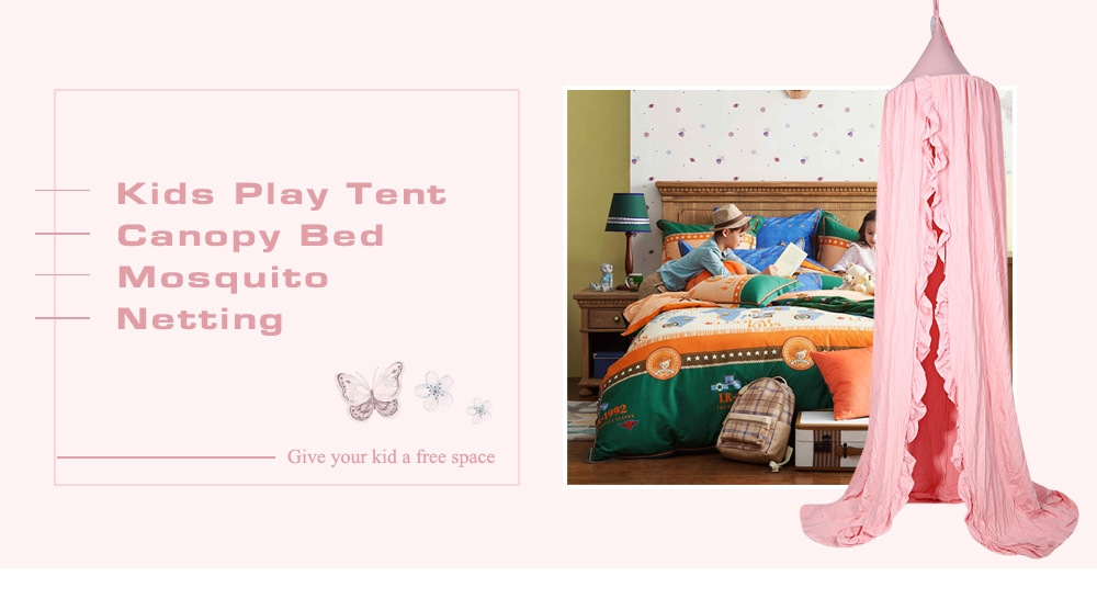 Dome Bed Canopy Kids Play Tent Mosquito Net