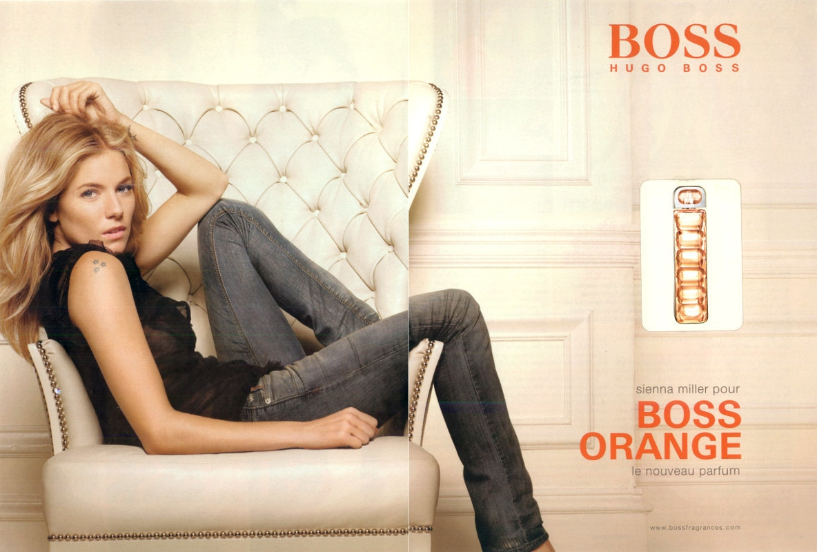 """Résultat de recherche d'images pour """"sienna miller boss orange woman"""""""