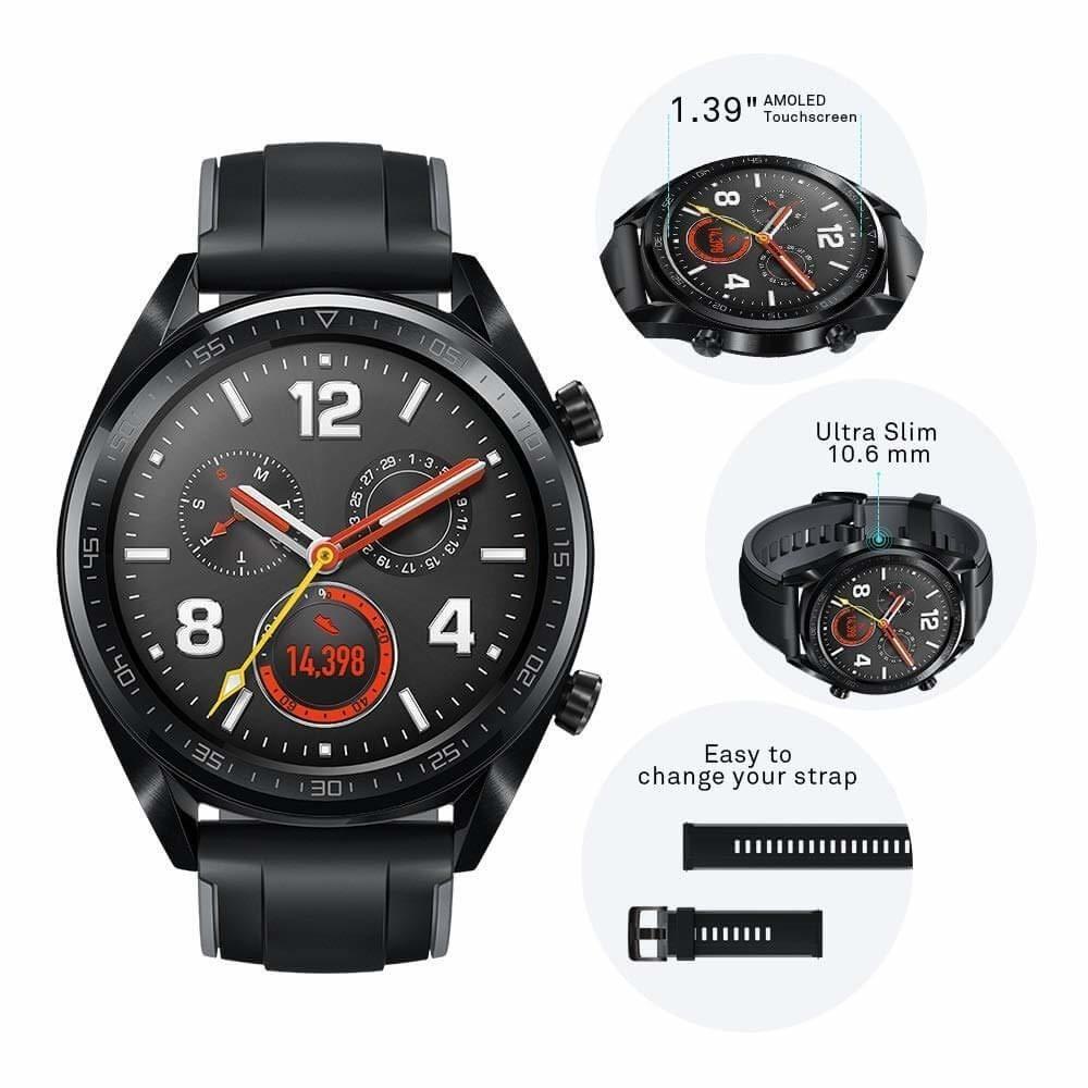 Huawei Watch Gt Montre Connectée Gps Ecran Tactile