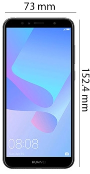 Huawei Y6 Prime mobile phone - Physical Features