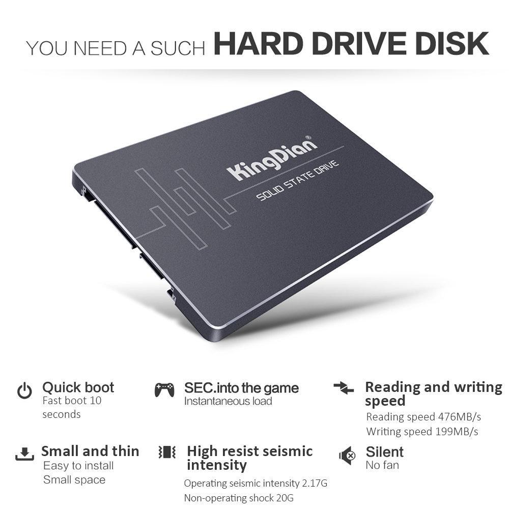 KingDian S400 - 120 120GB Solid State Drive SATA III Computer Component