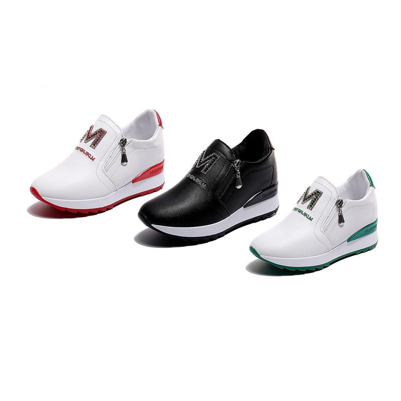 Femmes Maille Style Koko Korean Chaussures Fashion Talon FYnXxpq01