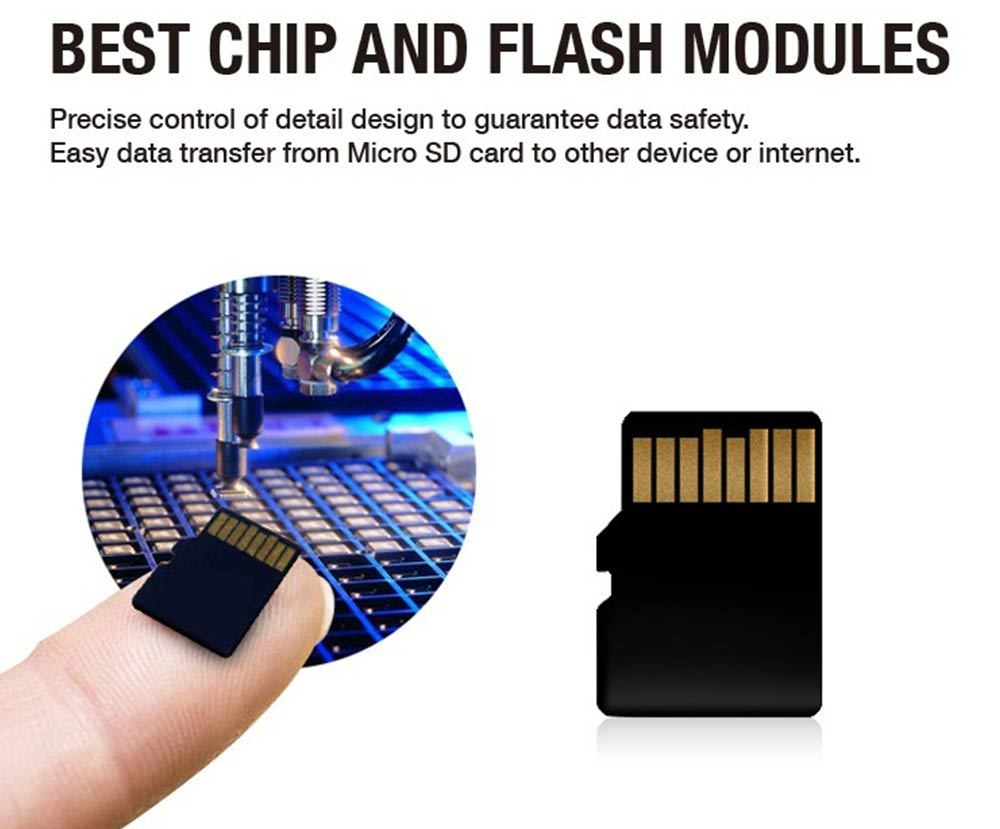 LD 16GB Micro SD Memory Card Class 10 40MB/s Storage Device