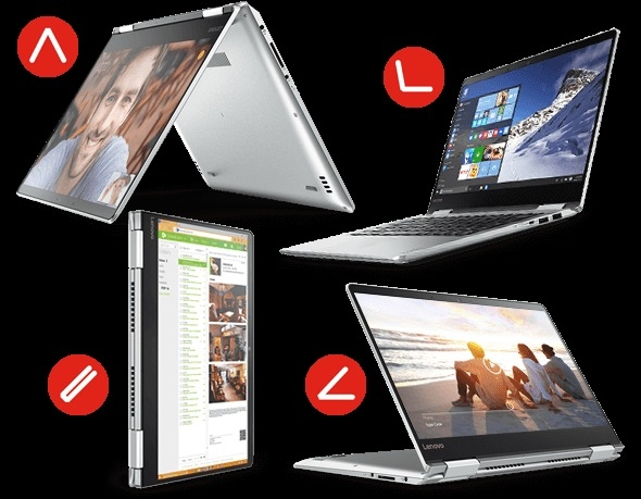 "Convertible Lenovo Yoga 710 (14"")"