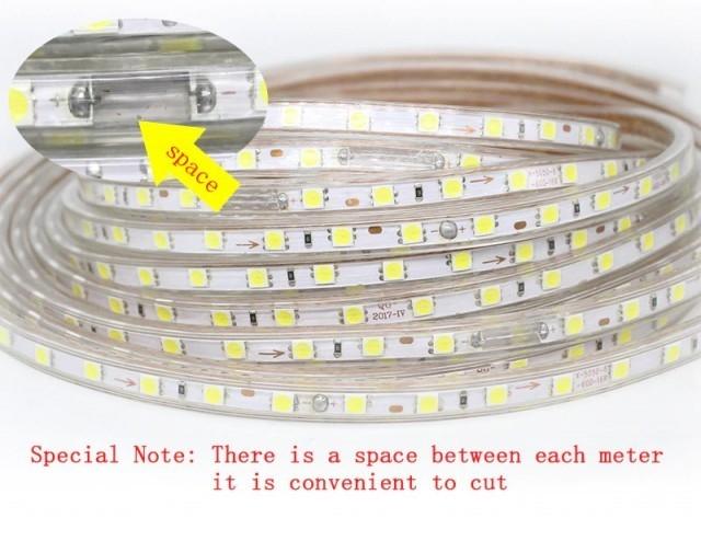 Led Strip مئة متر ليد مرن مقاوم للماء وعالي الجودة 5 كبل
