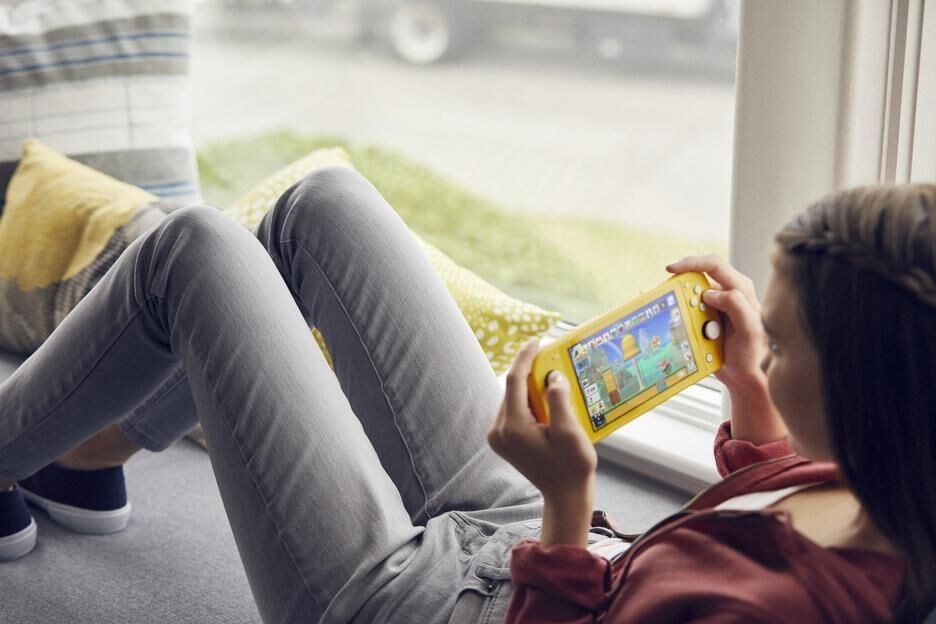 Nintendo Switch Lite Jaune