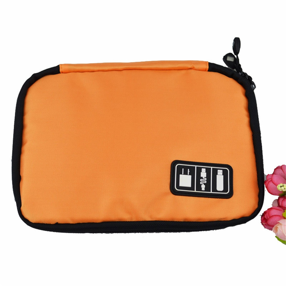 Color Storage Bag Digital Fashion Organizer System Kit Case Devices Earphone Wire Pen USB Data Cable Travel Insert