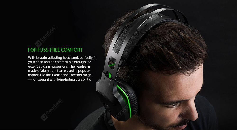 In-line Control / Auto Adjusting Headband / Detachable Boom Mic- Black