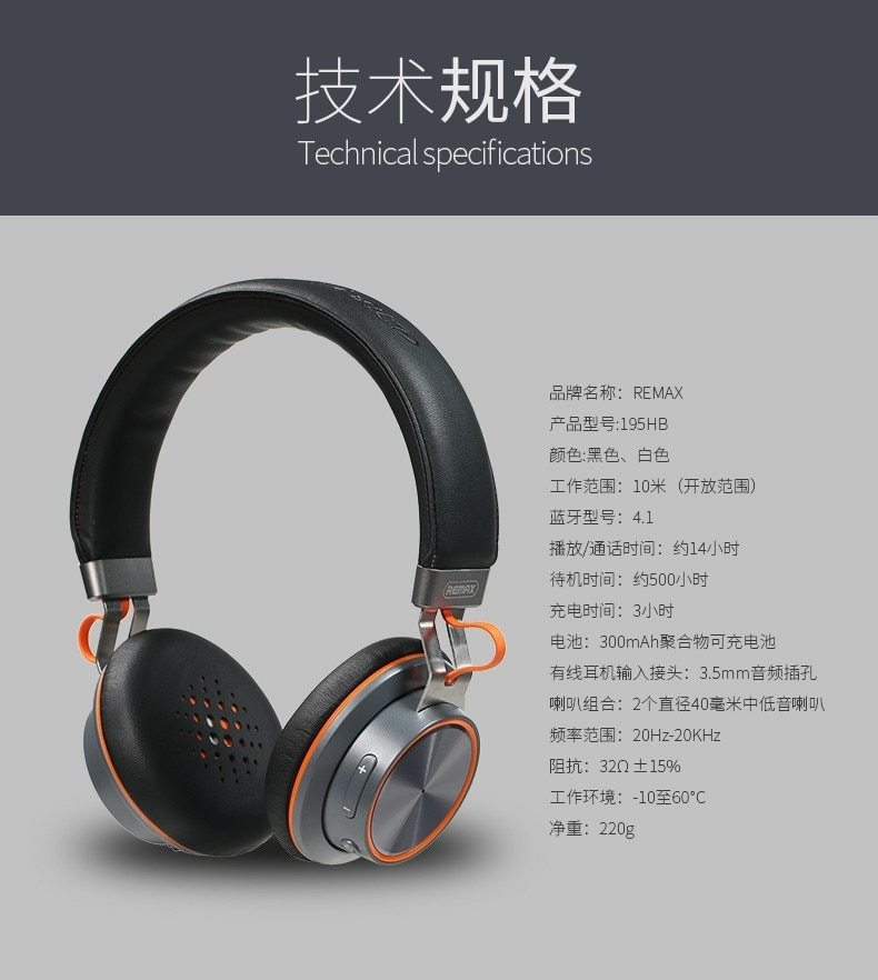 headset Bluetooth 4.1 music headset over the earphone with mic for xiaomi (9)