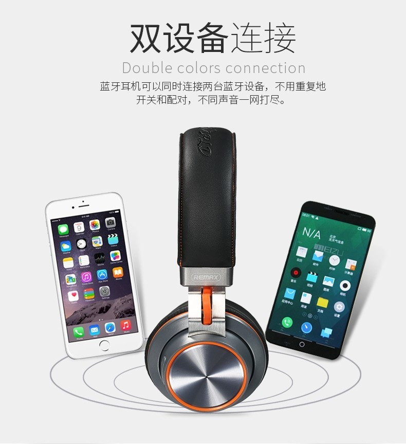 headset Bluetooth 4.1 music headset over the earphone with mic for xiaomi (5)