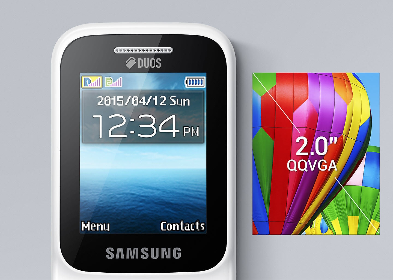 Samsung Sm B310e 20 Double Sim Bleu Prix Pas Cher Black Image