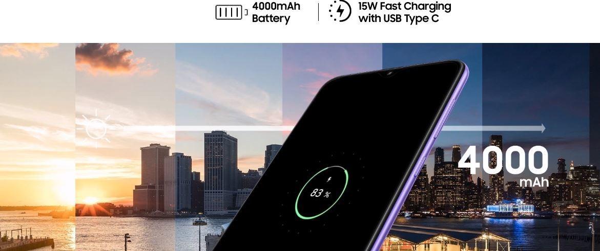 """Samsung Galaxy A30s 6.4"""" (64Go, 4Go) Android 25MP+8MP+5MP/16MP - Blanc"""