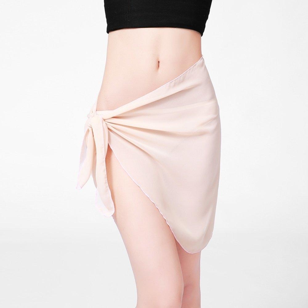 KCASA KC-X1 Coqueta Woman Swimwear Chiffon Cover up Beach Towel Sarong Pareo Canga Swimsuit Wrap Multi Color