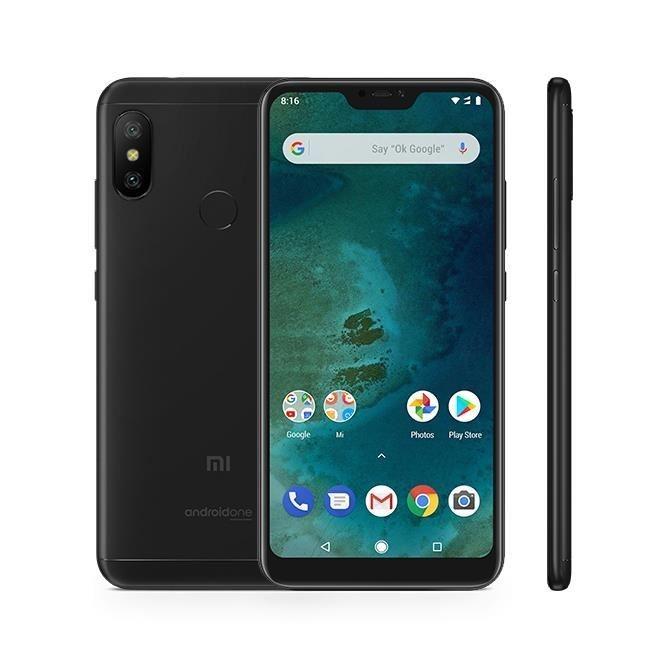 """Résultat de recherche d'images pour """"Xiaomi Mi A2 Lite 3Go+32Go 5.84 Pouces 2280x1080 Android One 4000mAh Dual SIM noir"""""""