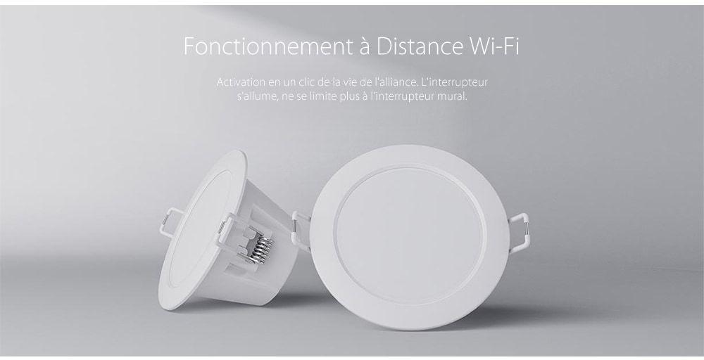 Xiaomi PHILIPS Zhirui Plafonnier avec Température de Couleur Réglable- White