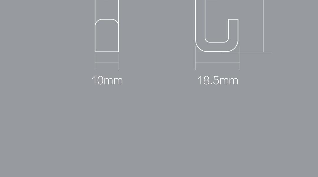 Original Xiaomi Mi Home 6 Pcs Happy Life Crochets de Cuisine Salle De Bains Mur Cintres pour Robe Manteau Serviette Porte-clés Sacs