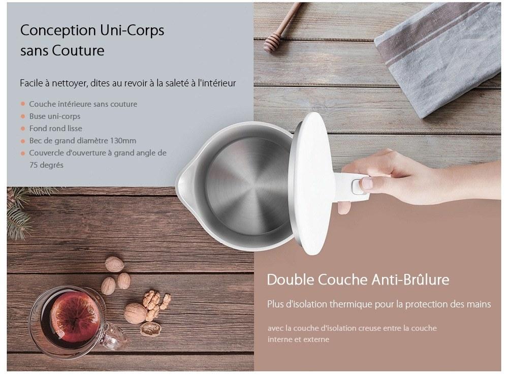 Xiaomi Bouilloire Electrique 1,5L- White Three Pin Chinese Plug