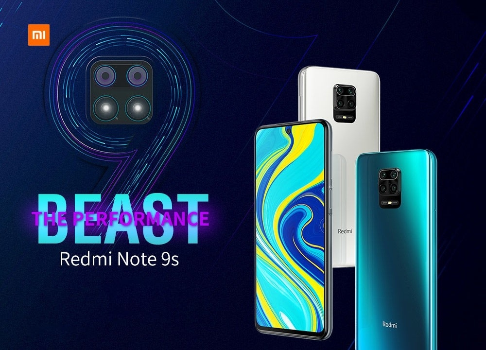 Xiaomi Redmi Note 9S Smartphone The Latest Smart Phone of Redmi Series Global Version EU Plug