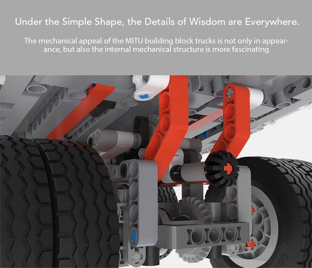 Camion minier Xiaomi MiTU Puzzle Building Block- Multi-A