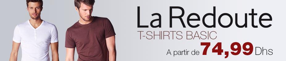 achetez en ligne les t-shirts La redoute Maroc sur jumia.ma