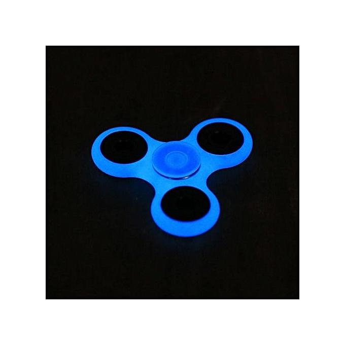 Sunshine nouveau GFaibleing Hand Spinner 360 Tri Fidget Desk Stress rougeucer EDC Focus Toy-bleu à prix pas cher