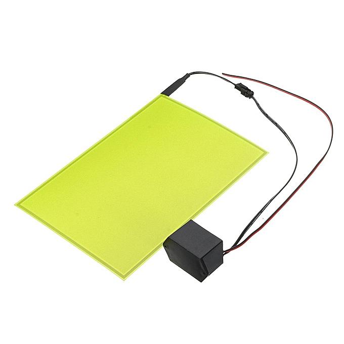 UNIVERSAL A5 EL Panel Electroluminescent Cuttable Light Sheet Neon Sheet + Actuator 12v à prix pas cher