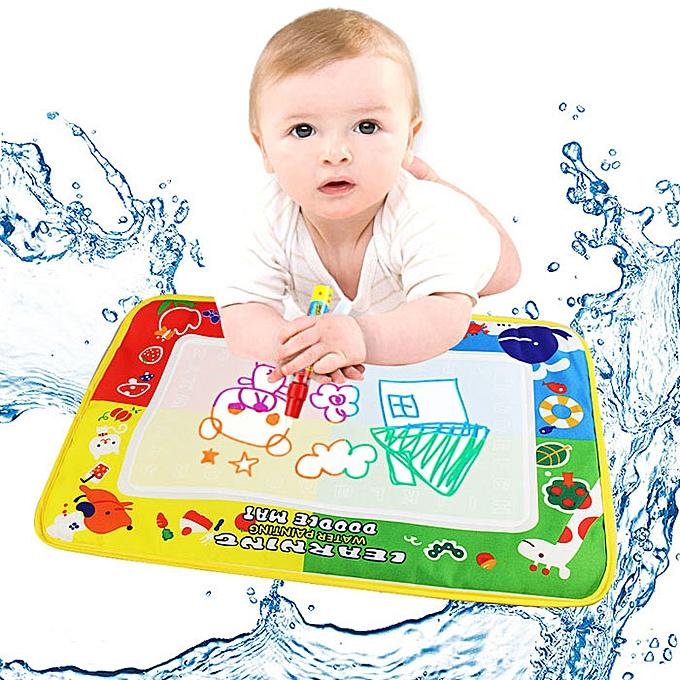 OEM 4Couleur Water Drawing Mat Board &Magic Pen Doodle Enfants Toy Gift 46X30cm à prix pas cher