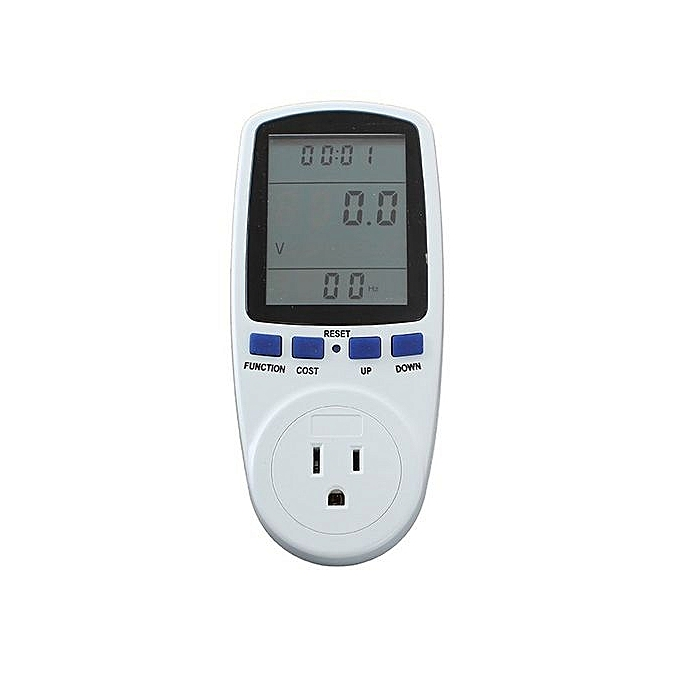 UNIVERSAL Energy Meter Watt Volt Voltage Electricity Monitor Analyzer (US Plug) à prix pas cher