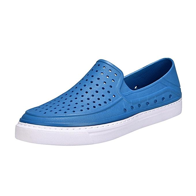 Fashion Tectores Men chaussures Unisex Hollow out Casual Couple Beach Sandal Flip Flops chaussures à prix pas cher