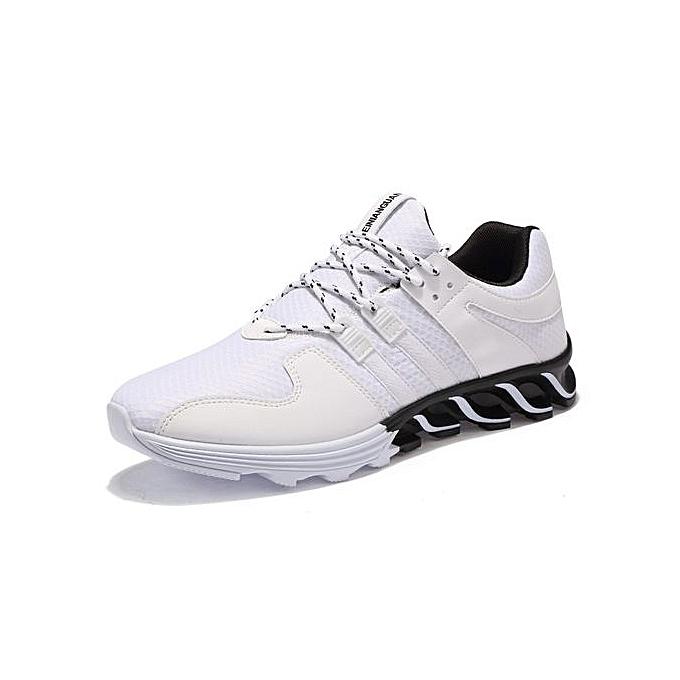 Fashion Men's Casual chaussures 2017 Winter Mesh Feature Waterproof Chaussure Homme For Walking chaussures Pantoufles Deporte Cottson chaussures-blanc à prix pas cher