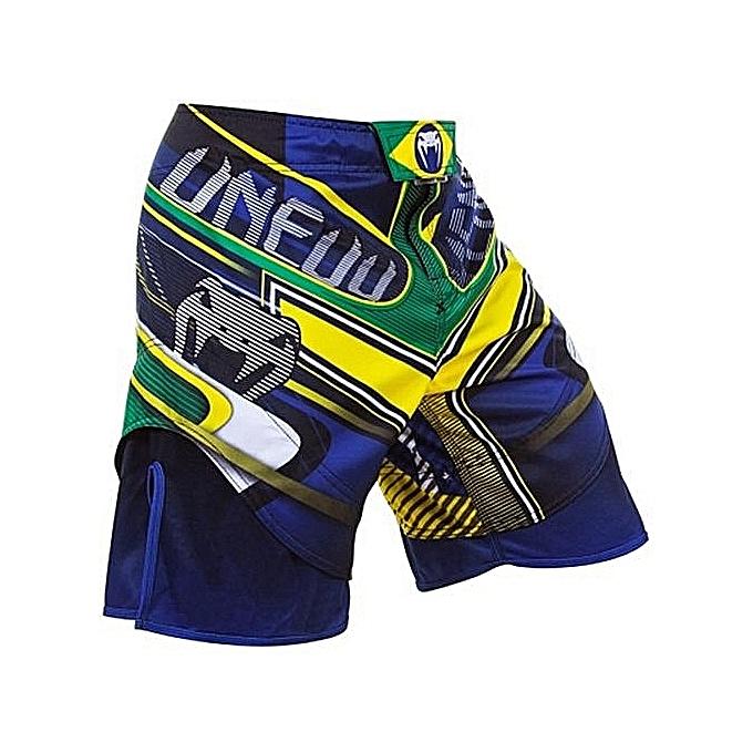 bleuLife Men MMA Training Boxing Shorts -MultiCouleur à prix pas cher