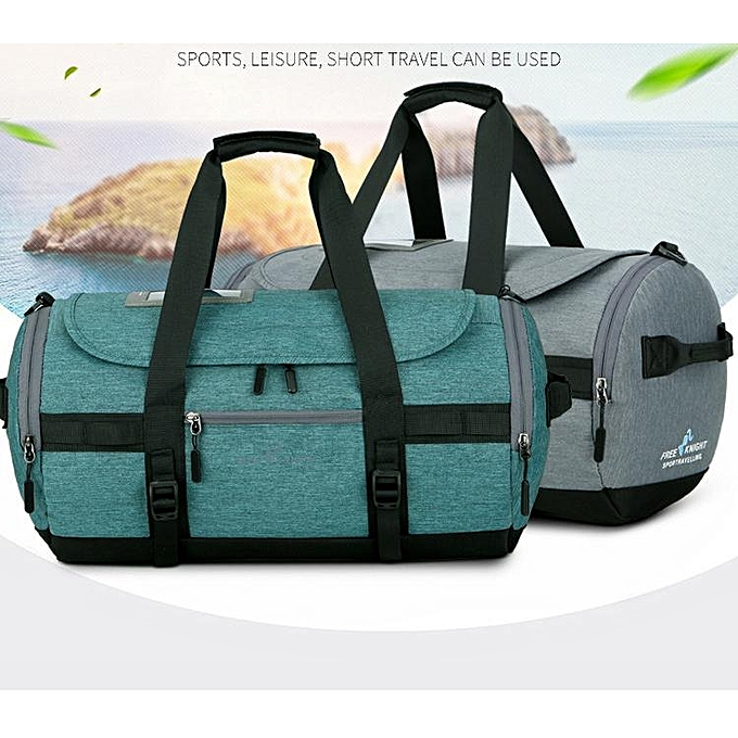 Fashion Waterproof Sports Gym Travel Duffle Bag Fitness Training Yoga Shoulder Handbag vert à prix pas cher