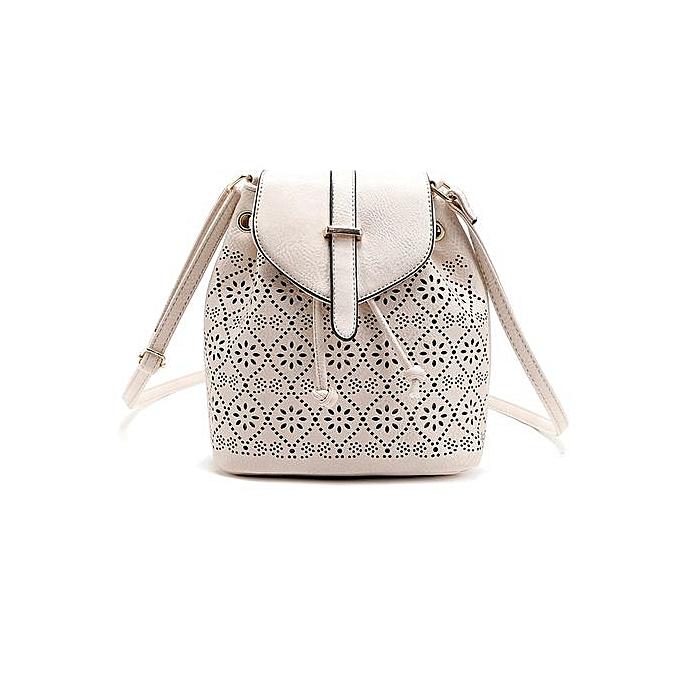 Fashion SingedanFashion femmes Lady Satchel Handbag Shoulder Tote Bag Beige -Beige à prix pas cher