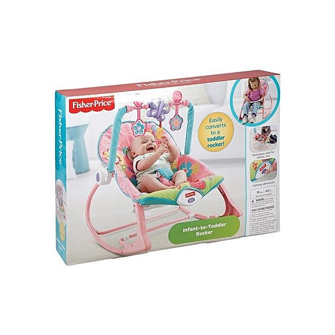 Fisher Price Transa evolutif musical avec vibrations bébé de 0 à 3 ans jusqu'à 18kg (balacelle, balançoire) à prix pas cher