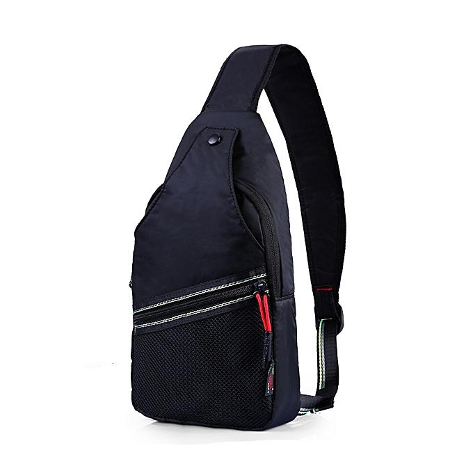 mode imperméable Leisure bandoulière sac capacité Ourdoor Sports Chest Shoulder sac à prix pas cher