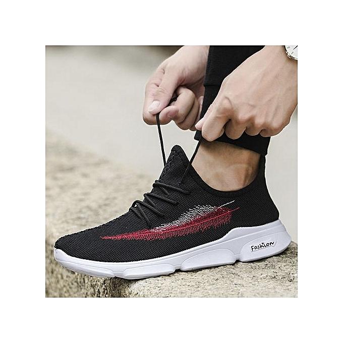 OEM Men's woven lightweight breathable fashion casual chaussures à prix pas cher    Jumia Maroc