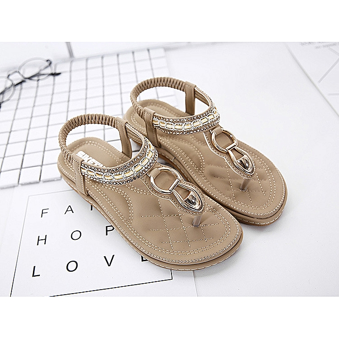 Fashion SOCOFY Wohommes Slippers Sandals Flip Flops Beach chaussures Rohomme à prix pas cher