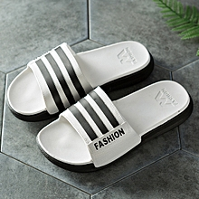 8685afb5c972 Men Slipper Casual Shoes Non-slip Slides Thick bottom Bathroom Summer  Sandals Soft Sole Flip