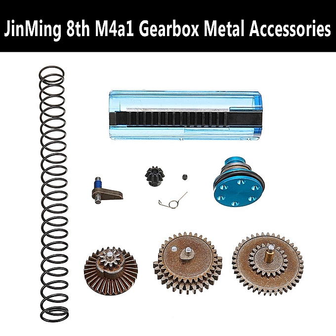 UNIVERSAL Upgrade Gearbox Accessories for Gel Ball Blaster Water JinMing 8Th M4A1 à prix pas cher