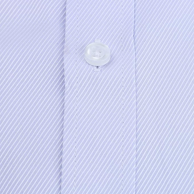 mode Hommes& 039;s Solid Couleur Twill manche longue Affaires Formal Shirts Clothing chemisier PP 44 à prix pas cher