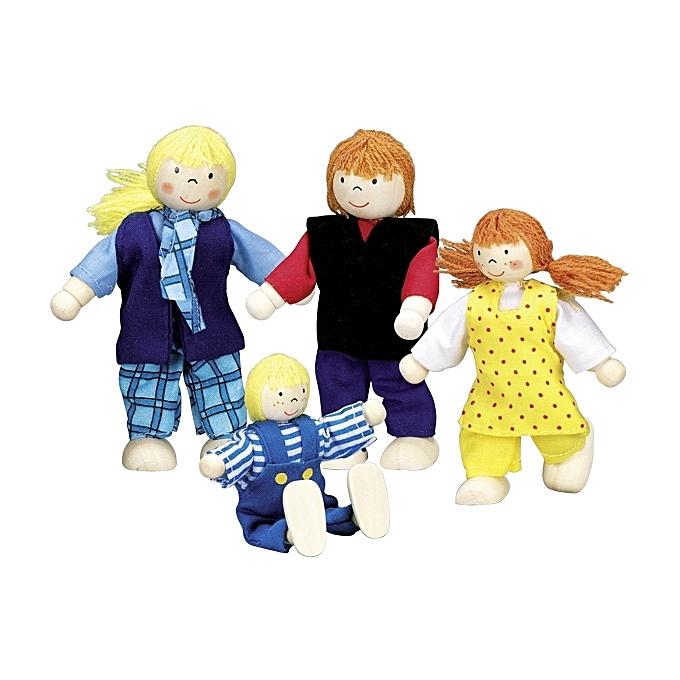 GOKI Famille moderne, poupées articulées à prix pas cher