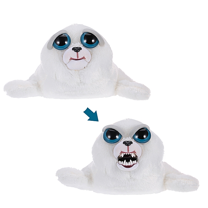Autre Tony Tubbalard Feisty Films Adorable Plush Stuffed Toy Harp Seal Pup Turns Feisty with a Squeeze à prix pas cher
