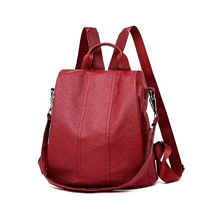 Fashion 2019 fashion quality luxury femmes backpack youth leather backpack retro girl bag blanc backpack large capacity travel backpack à prix pas cher