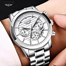 8ed440c00 LIGE 2018 New Watches Men Luxury Chronograph Men Sports Watches Waterproof  Full Stainless Steel Quartz Watch
