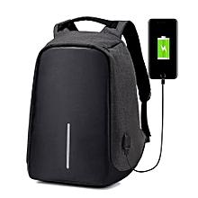 4a16071b75e24 حقيبة ظهر مكافحة سرقة متعددة الوظائف مع منفذ USB للشحن