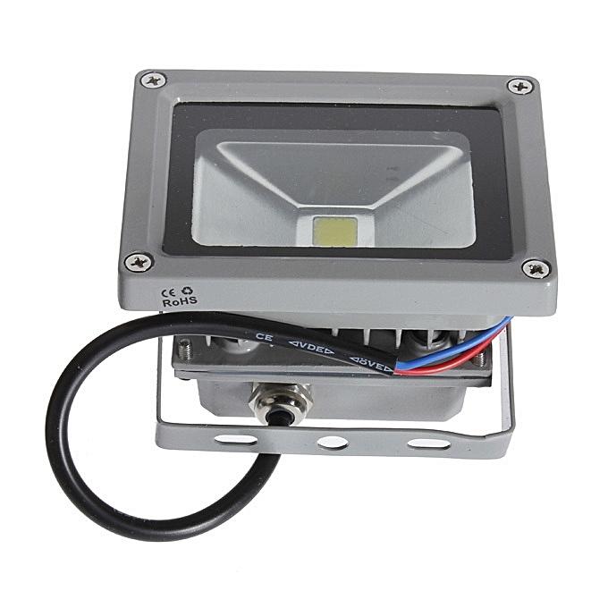 UNIVERSAL 10W Pure blanc High Power LED Flood Wash Light Lamp Bulb Outdoor Waterproof 220V à prix pas cher
