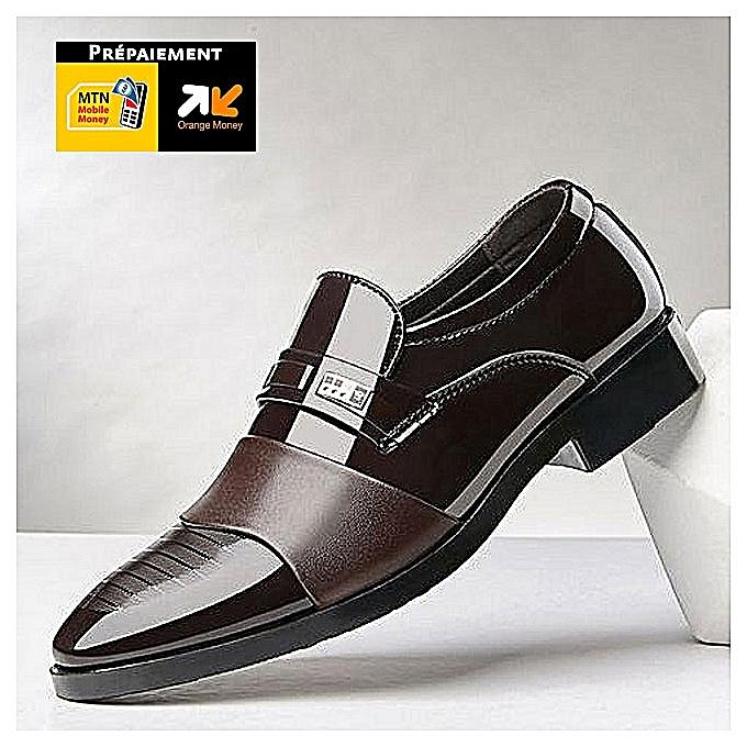 Fashion Fashion Simple Cosy Men chaussures - marron à prix pas cher    Jumia Maroc
